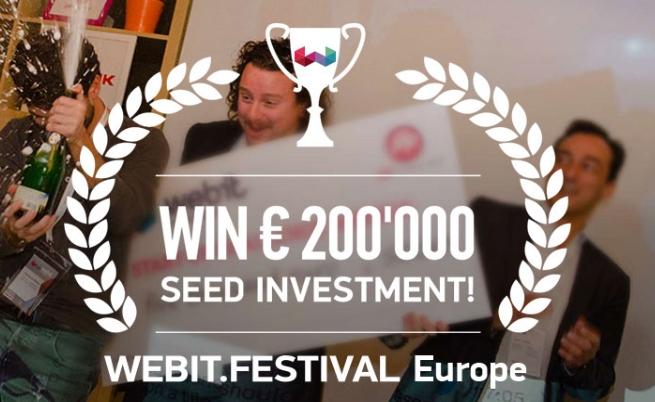 Webit Festival дава награда от 200 хил. евро