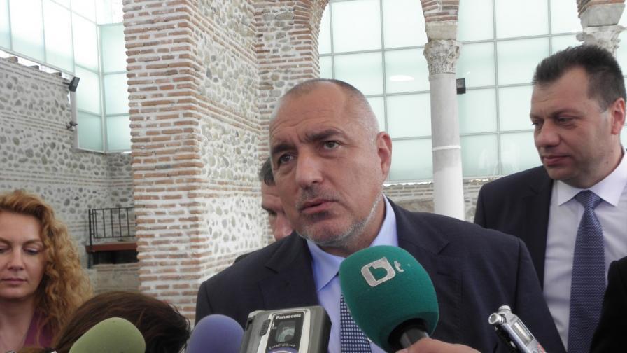 Борисов: Страхът е от по-големия контрол
