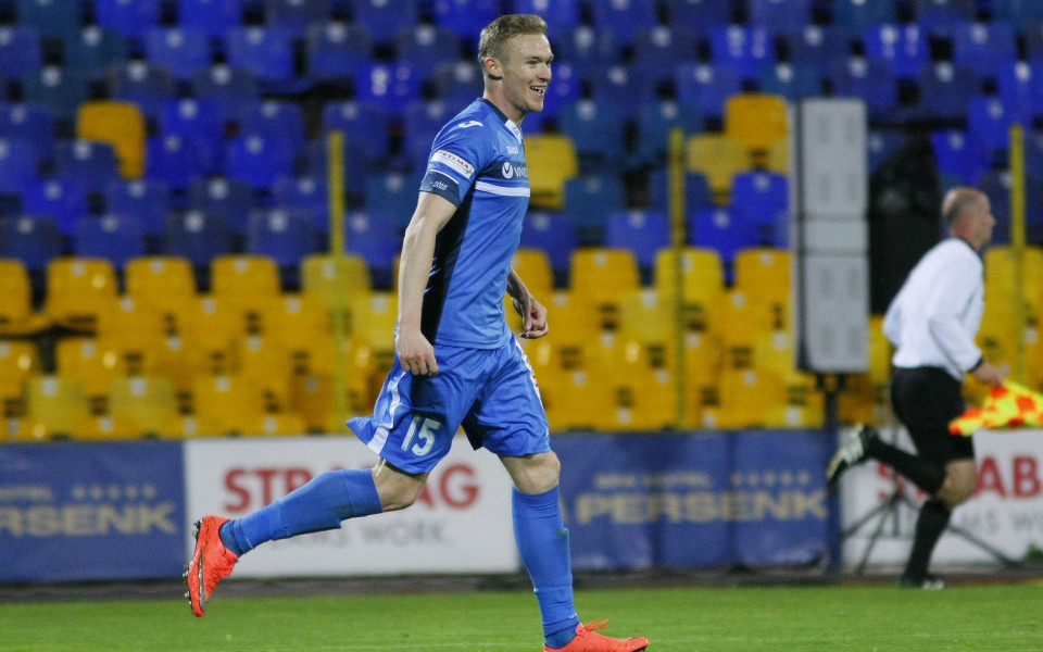 Бившият халф на Левски Роман Прохазка, който сега е играч
