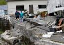 След силните земетресения в Япония