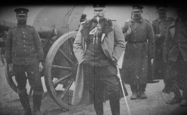 Владимир Вазов на бойното поле