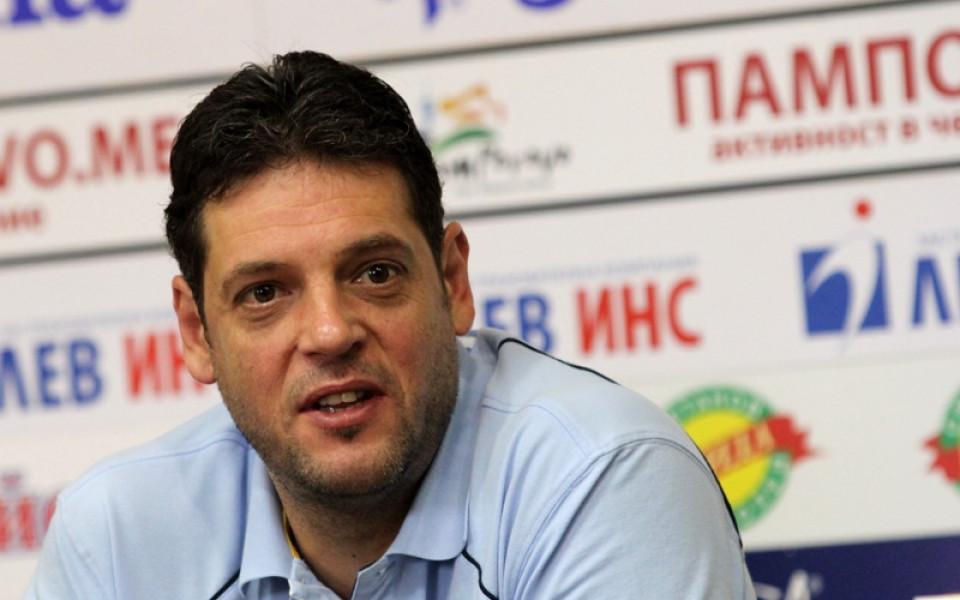 Пламен Константинов и Новосибирск с успех в Русия