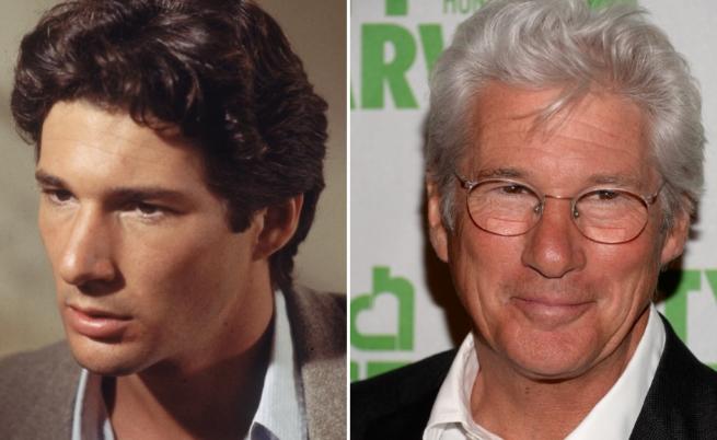 Машина на времето: Холивудските актьори преди и сега