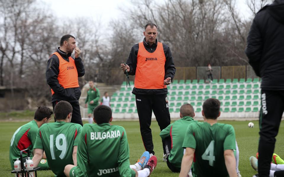 Младежите с поражение в Македония