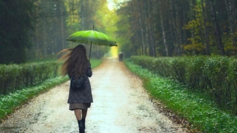 пролет дъжд тъга самота