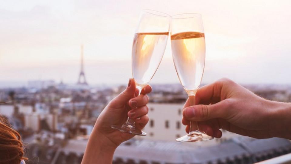 Шампанско и бира за здраве и добра памет