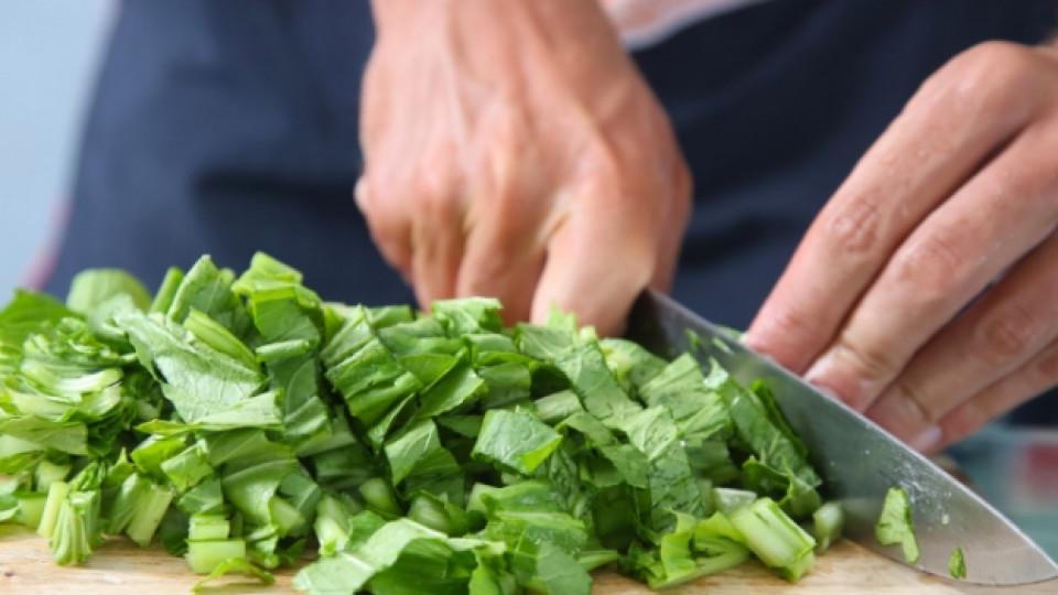 Принцът на зеленчуците с желязната зелена ръка