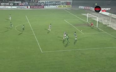 Вандерсон вкара почетния гол за Лудогорец