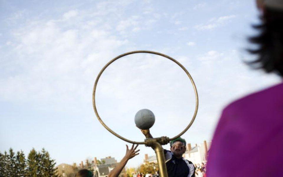 Куидич турнир на 4 км над Богота