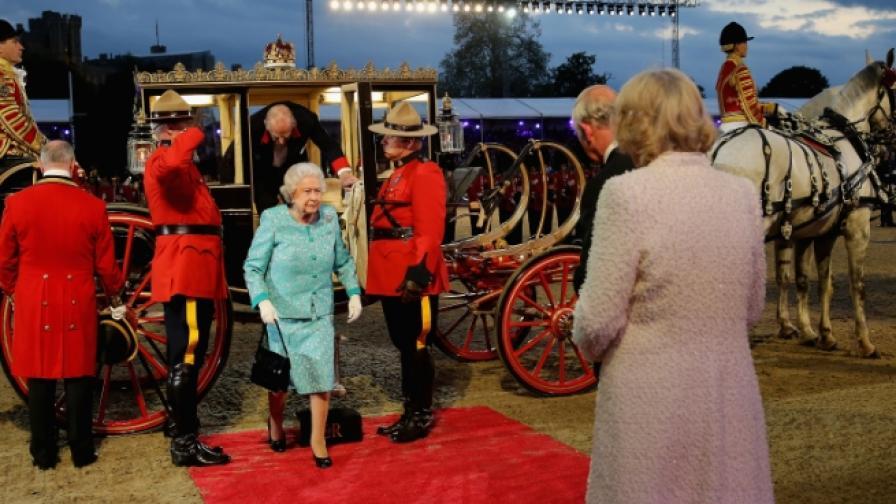 Шоу с 900 коня за рождения ден на кралица Елизабет II