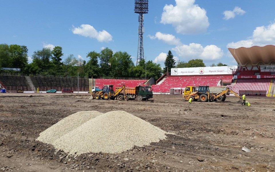 Стана ясна стойността на футболните игрища, добавени като подобрение към