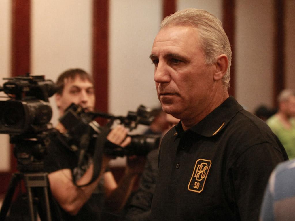 Пресконференция на Христо Стоичков преди юбилейния мач