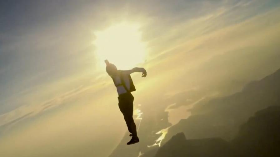"""Какво вижда човек, когато скочи от """"ръба"""" на космоса"""