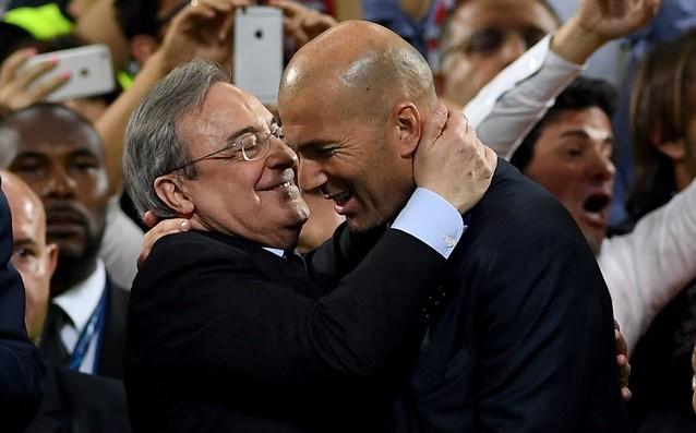 Перес мисли за нови попълнения в Реал, Зидан не иска и да чува