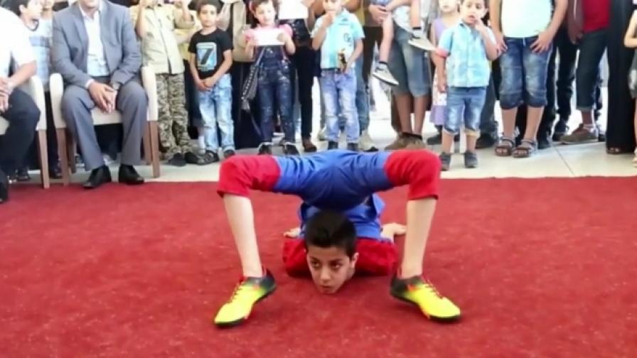 12-годишен завъртя тялото си на 360 градуса 33 пъти