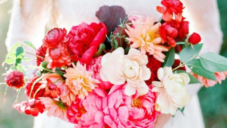 8 идеи за букет за вашата лятна сватба