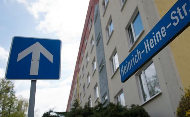 """Улица """"Хайнрих Хайне"""" в Дюселдорф"""