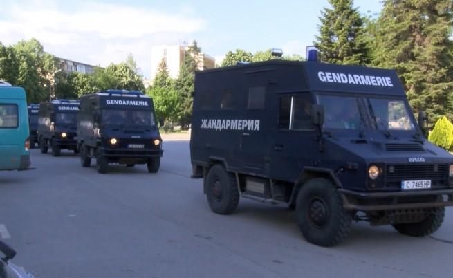 Спецакция в Севлиево, жандармерия блокира града, трима арестувани