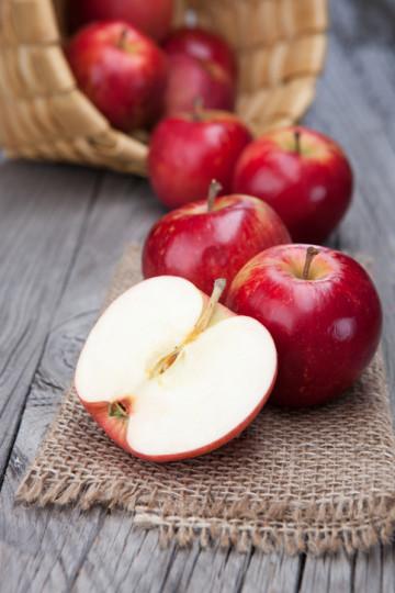 Ябълки - за повече овлажняване