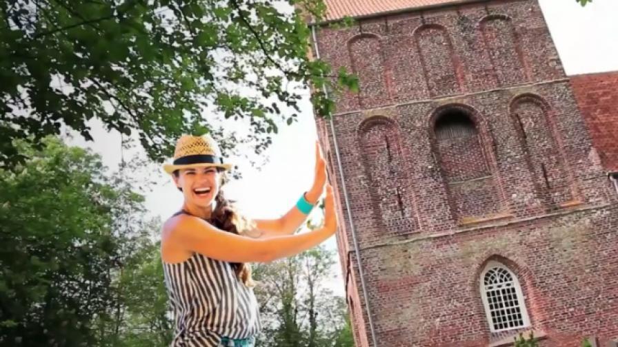 Камбанарията, която измести кулата в Пиза (видео)