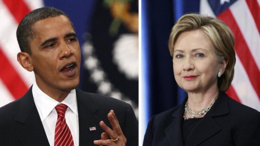 Обама официално подкрепи Хилари Клинтън