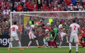 ВИДЕО: Албания - Швейцария 0:1 /първо полувреме/