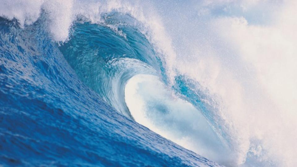 Звукът на вълните