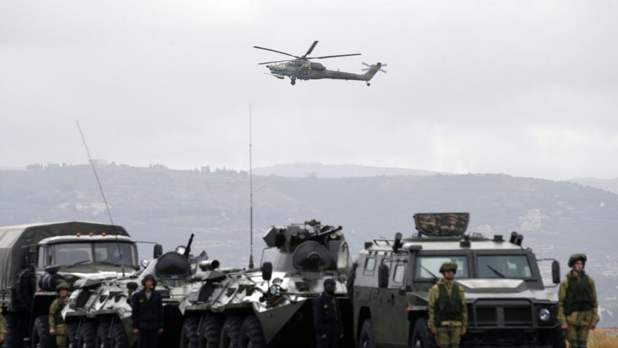Москва призна за десетки ранени руснаци в Сирия