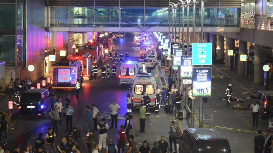Атентатът на летището в Истанбул