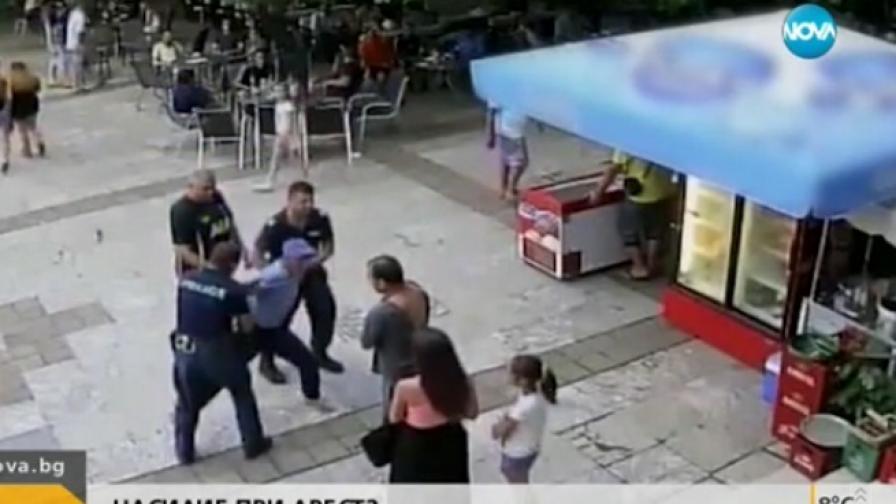 Инвалид обвинява полицаи в насилие