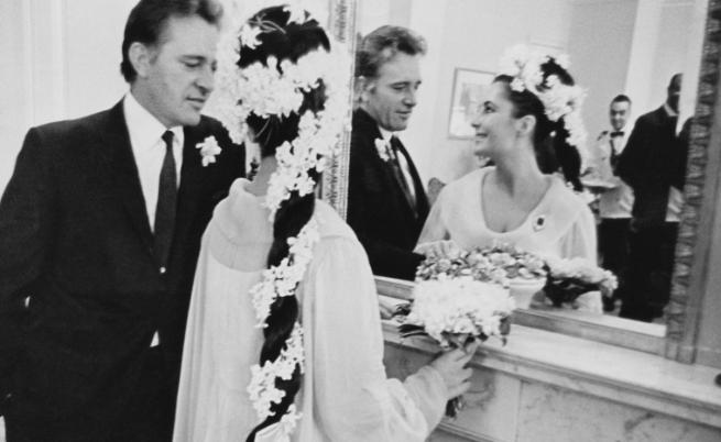 Сватбата на Елизабет Тейлър и Ричард Бъртън