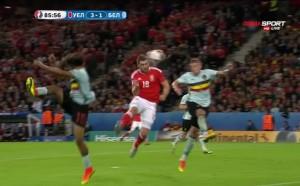 Брилянтна игра във въздуха и 3:1 за Уелс