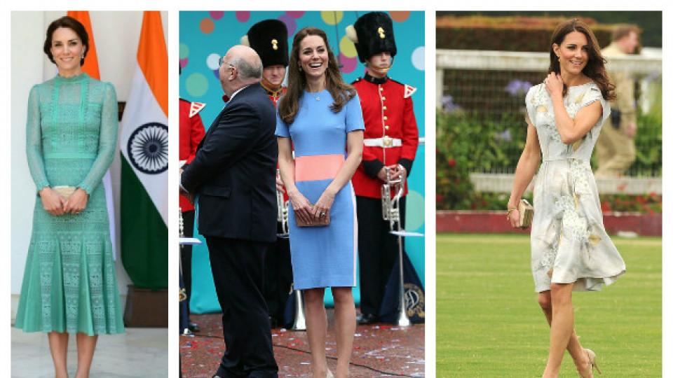 Летните рокли на Кейт Мидълтън
