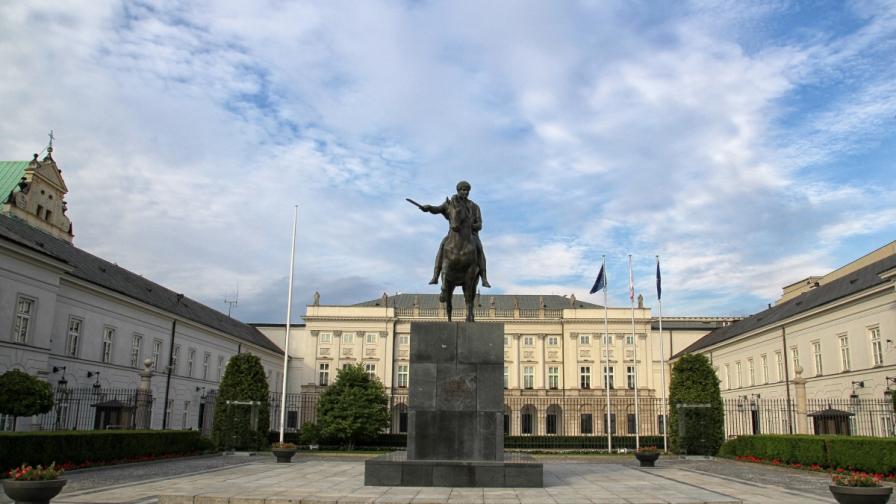 Президентският дворец във Варшава