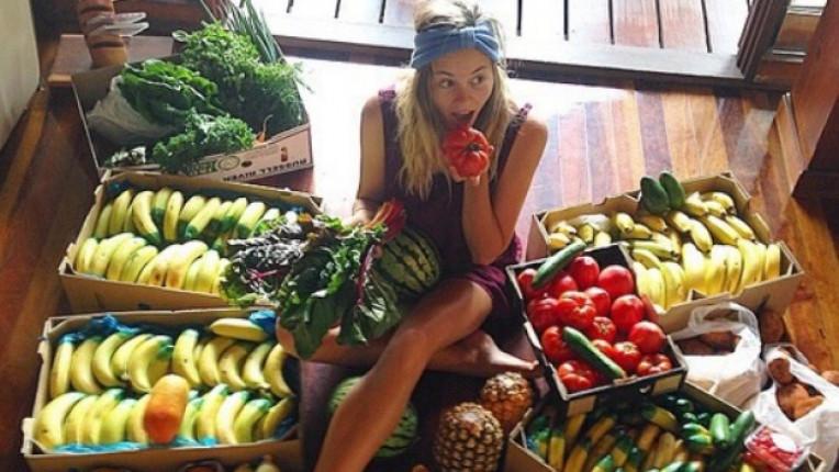 храна жена тяло здравословно плодове