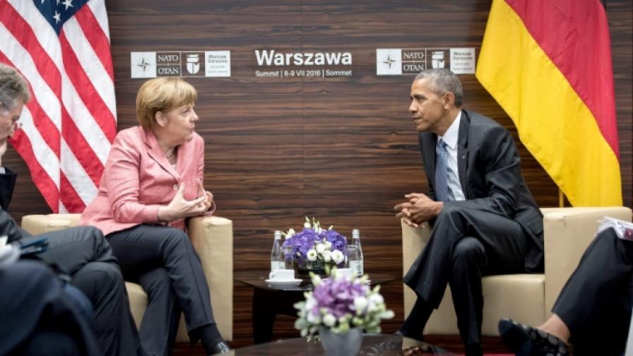 Германия притеснена, не разбира Тръмп за световната политика