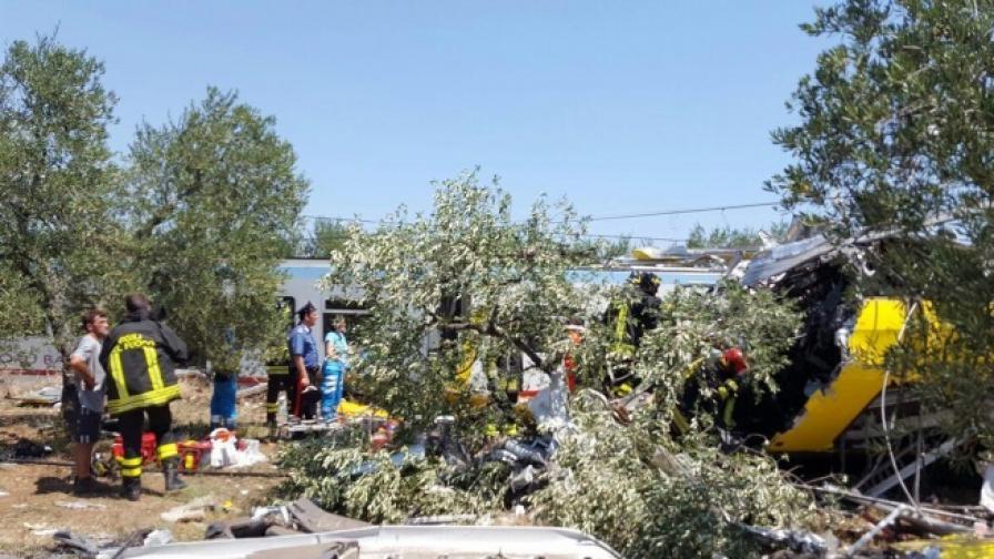 Расте броят на жертвите от катастрофата в Италия