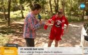 Заради ЦСКА жена иска да боядиса света в червено