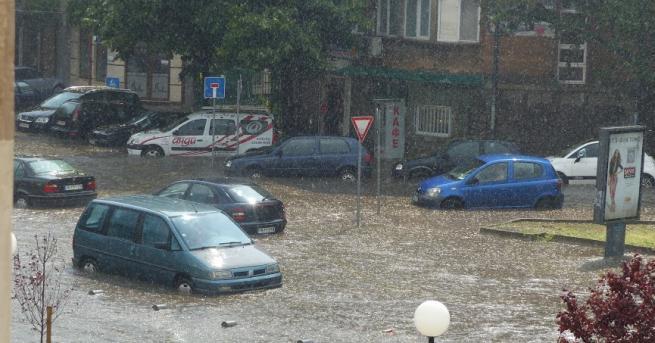 В случай на наводнение не трябва да влизаме в подлези,