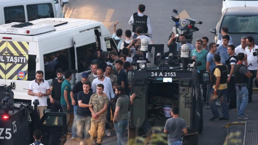 Масови арести в Турция