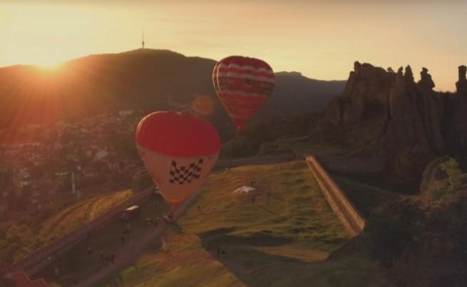 Да полетиш с балон над Рилските езера