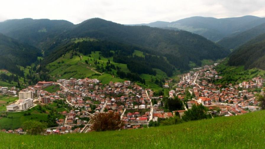 Сътезание по колоездене и бягане в Родопите