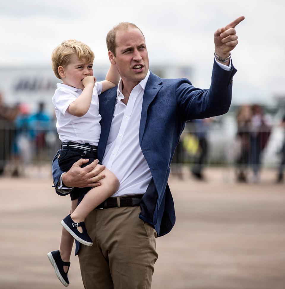 """""""Джордж е доста гръмогласен, но въпреки това изглежда доста добре!"""""""