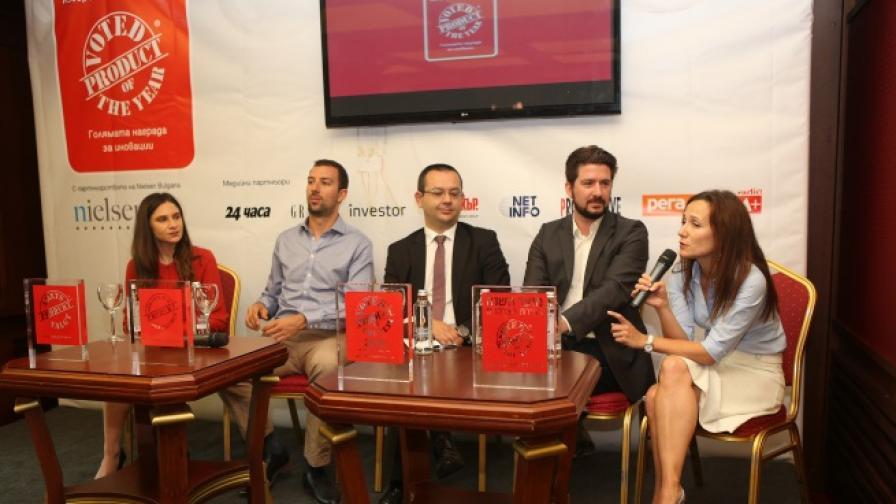 """Най-голямата международна награда за иновации """"Продукт на годината"""" идва в България"""