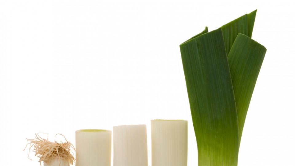 Зелено, вкусно и полезно - праз лук