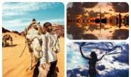 жена пътуване галерия