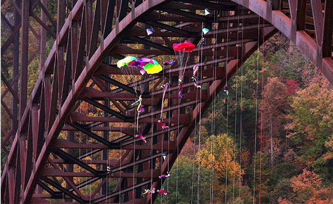 Мостът над Ню Ривър