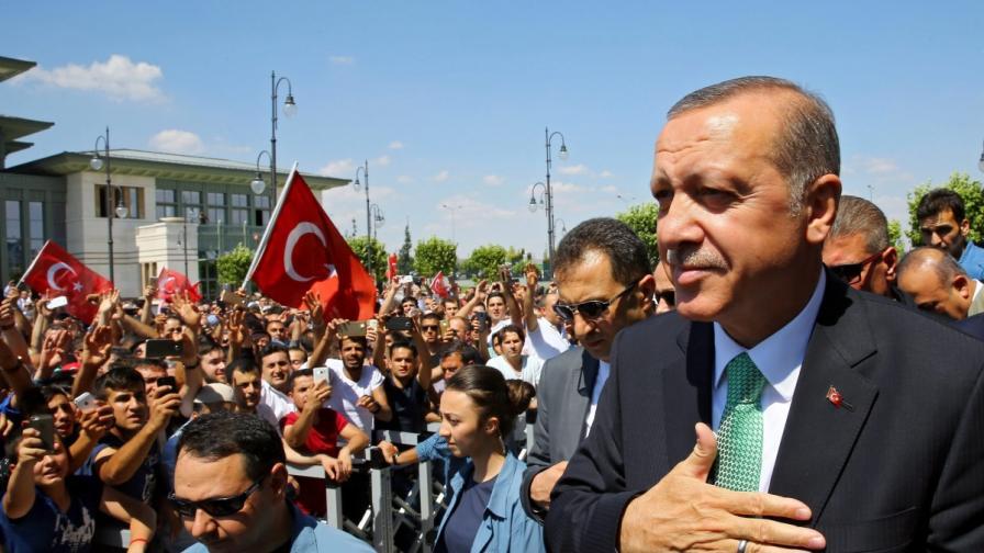 Ердоган: Не ме е грижа, ако ме нарекат диктатор