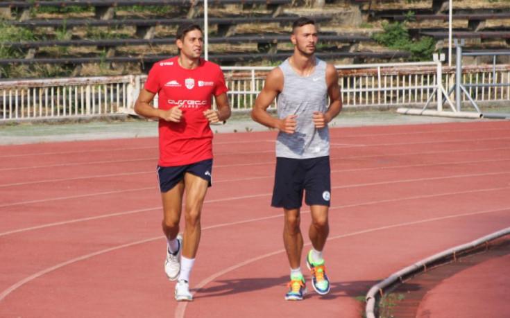 Братя Пенчеви тренират с Виктория Волей