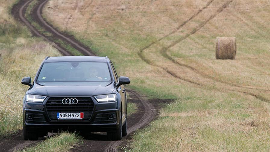За Audi Q7 важат само прилагателни (тест драйв)